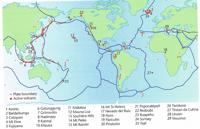 Earthquakes and volcanoes plate tectonics picture gumiabroncs Images